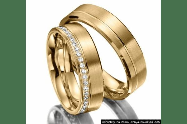 Обручки американки з діамантами - NaVolyni.com