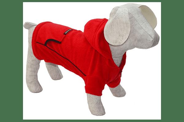Толстовка фліс з капюшоном – фліс, застібається блискавкою на грудці. Для прохолодної весняної та літньої погоди. Для малих та середніх собак. 5 розмірів. - NaVolyni.com