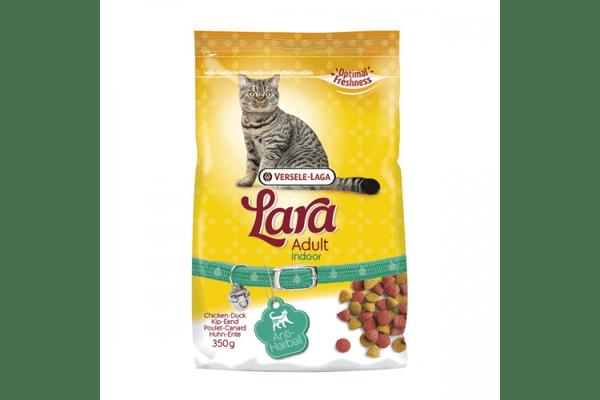 Lara ИНДУР (Indoor) сухой корм с выведением шерсти для домашних котов - NaVolyni.com