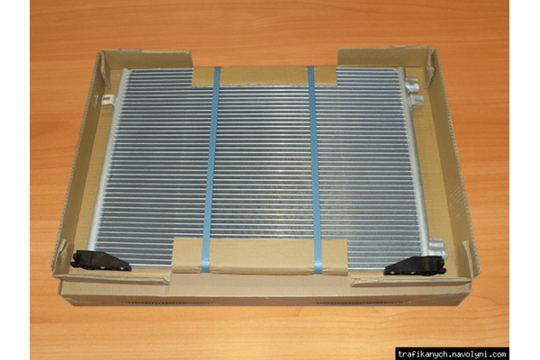 Радиатор  кондиционера  VAN VEZEL   на  1.9dci -  RENAULT TRAFIC / OPEL VIVARO - NaVolyni.com