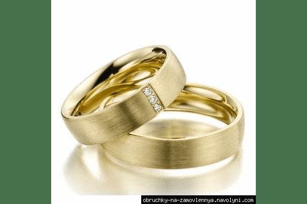 Обручальные кольца 750 пробы на заказ - NaVolyni.com