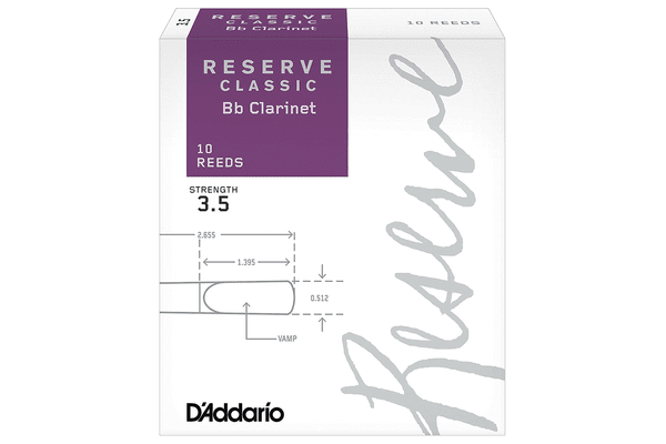 D'ADDARIO Reserve Classic Bb Clarinet <3,5> тростина для кларнета - NaVolyni.com