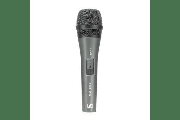 SENNHEISER E 835-S вокальний динамічний мікрофон - NaVolyni.com