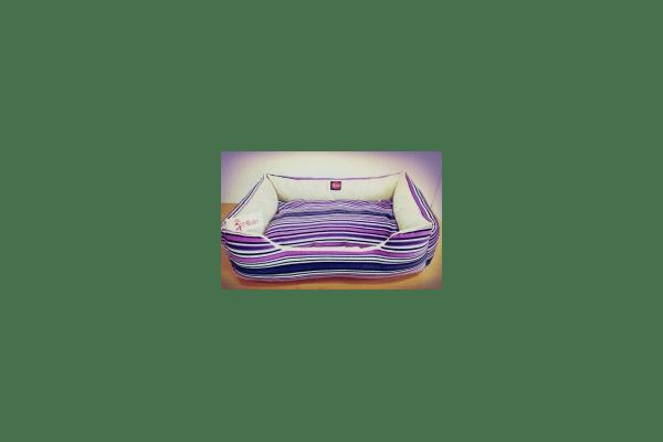 Лежак TM DIEGO фиолетовая полоска - NaVolyni.com
