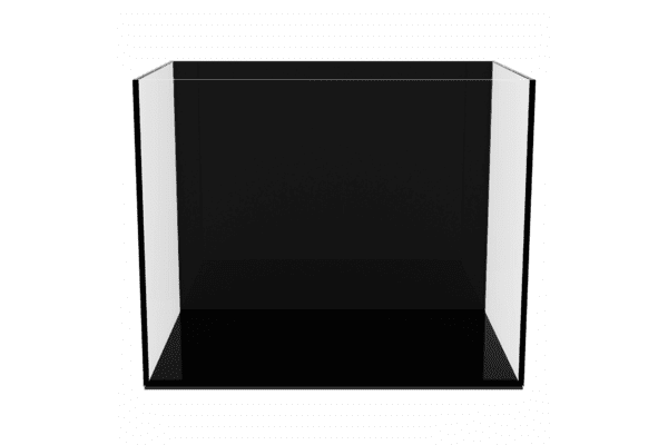 Аквариум aGLASS Black 22 л с черной задней стенкой - NaVolyni.com