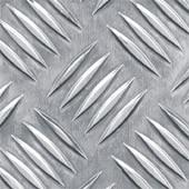 Лист алюмінієвий рифлений 2мм